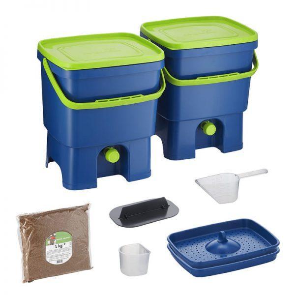Bokashi Organko set modro/zelena barva