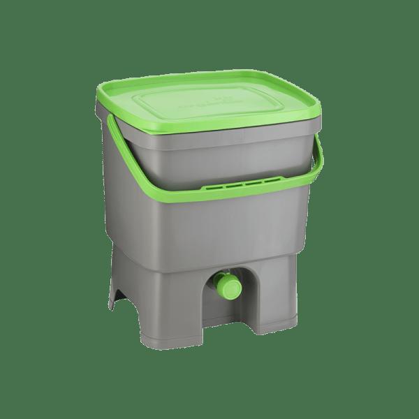 Bokashi Organko sivo/zelena barva