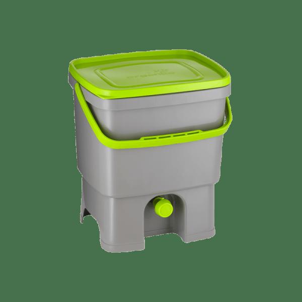 Bokashi Organko sivo/temno zelena barva