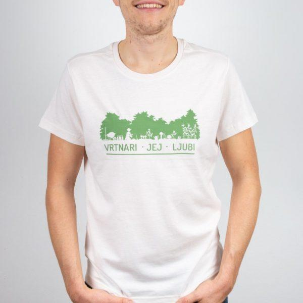 Moška majica Vrt Obilja 100% organski bombaž