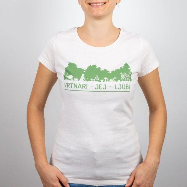 Ženska majica Vrt Obilja 100% organski bombaž