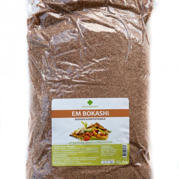 EM Bokashi posip 2 kg efektnivni mikroorganizmi