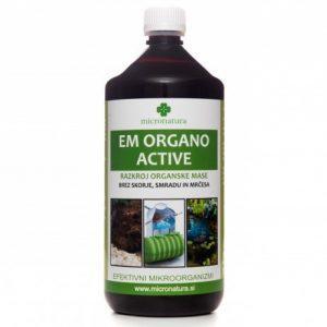 EM Organo Active 1 liter efektivni mikroorganizmi