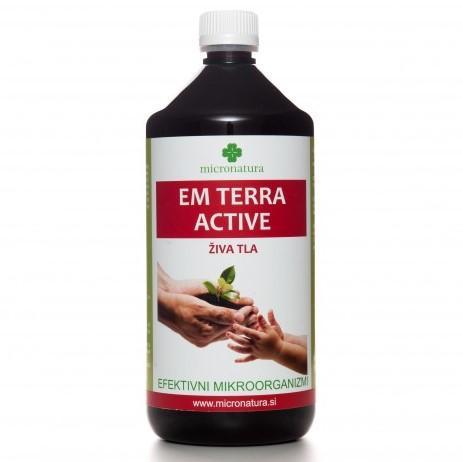 EM Terra Active efektivni mikroorganizmi 1 liter