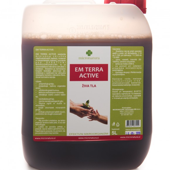 EM Terra Active 5 litrov pakiranje