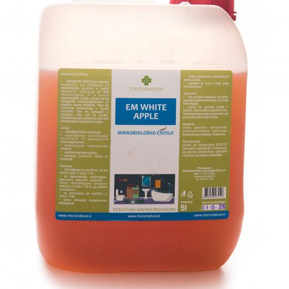 EM White Apple 5 litrov efektivni mikroorganizmi